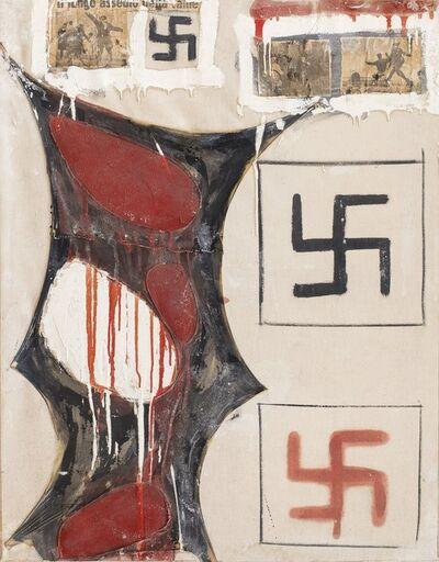 Franco Angeli, 'Senza titolo - il lungo assedio della fame', 1961/'62