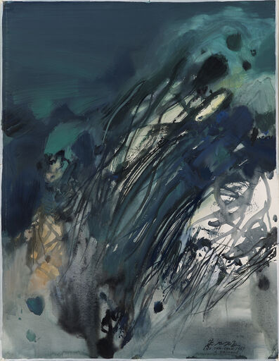 Chu Teh-Chun, 'Untitled', 1967
