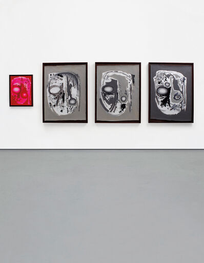 Aaron Curry, 'Hobo Head Rig (Bank 1, 2, 3, 4)', 2006