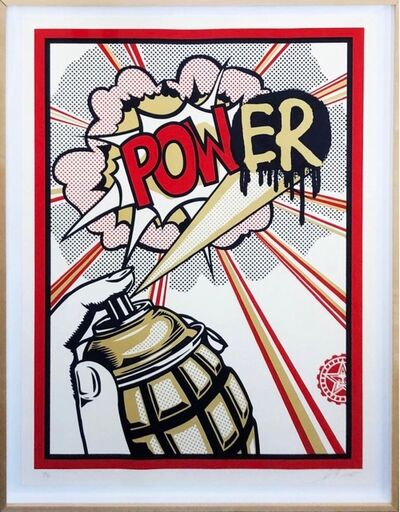 Shepard Fairey, 'Power', 2012
