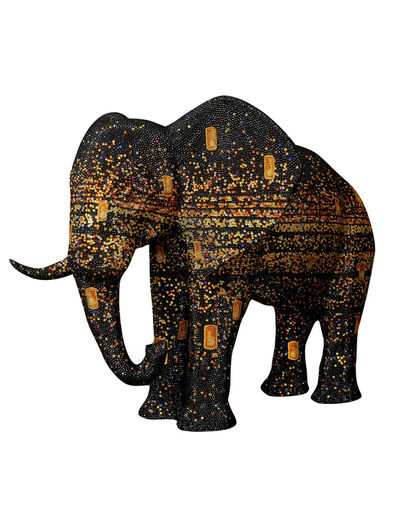 Metis Atash, 'Elephant Infinity', 2021