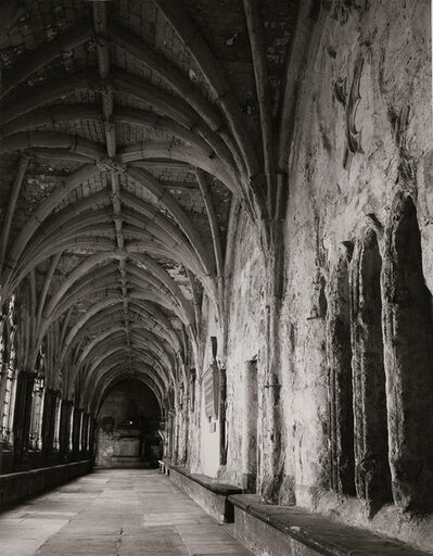 Evelyn Hofer, 'Cloisters, Westminster Abbey', 1960/1960