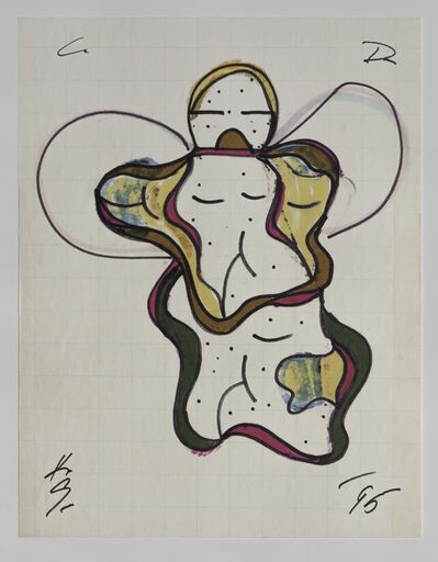 Keith Sonnier, 'Cat Doucet Drawing XI (Cat Doucet Series)', 1995
