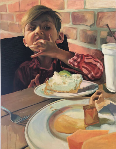 Scott Avett, 'Boy Eating Pie', 2018