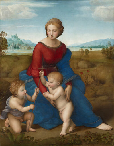 Raphael, 'Madonna on the Meadow', 1505-1506