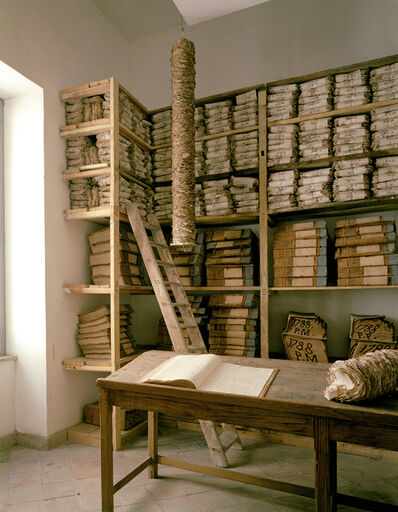 Doug Hall, 'Archive of the Bank of Naples, 1780's Room', 1997