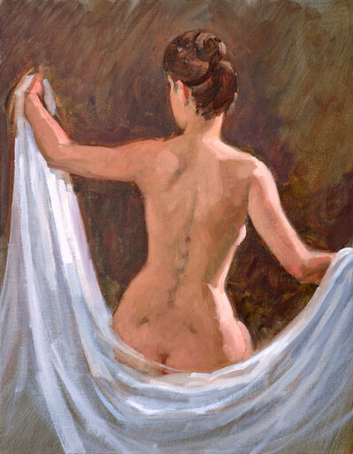 Paul Schulenburg, 'Woman With a White Drape ', 2019