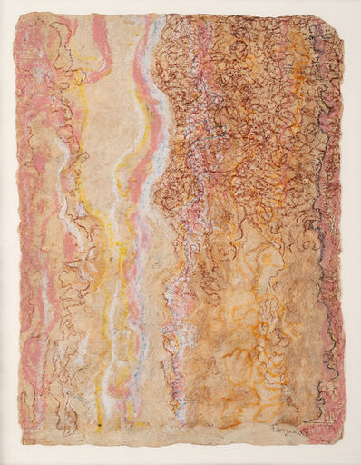 Mark Tobey, 'Pink waves', 1962