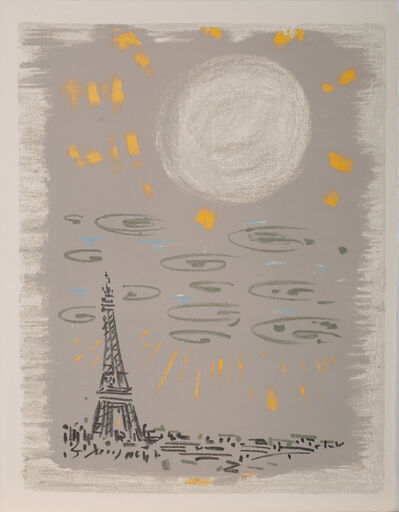 André Masson, 'La Tour Eiffel, Regards sur Paris', 1960