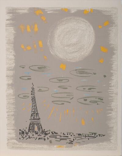 André Masson, 'La Tour Eiffel, Regards sur Paris', 1960