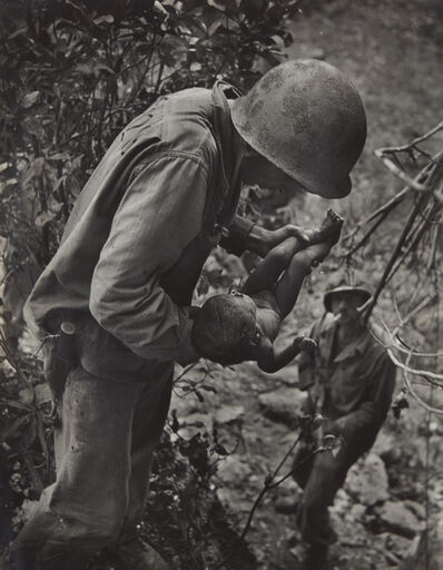 W. Eugene Smith, 'Saipan (Soldier Holding Baby)', 1944