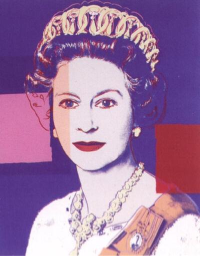Andy Warhol, 'Reigning Queens Portfolio: Queen Elizabeth II of the United Kingdom', 1985