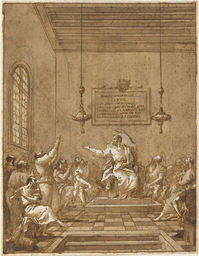 Giovanni Domenico Tiepolo, 'The Apostles' Creed', 1770s/1780s