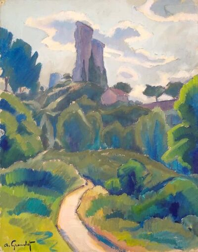 Andre Granchet, 'Paysage', Early 20th Century