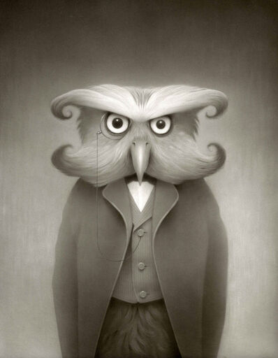 Travis Louie, 'Orson the Owl', 2018