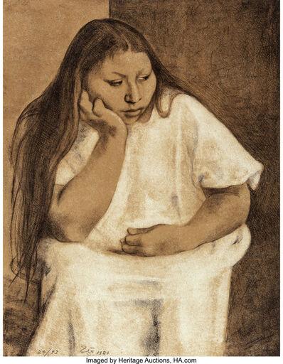 Francisco Zúñiga, 'Domitila', 1980