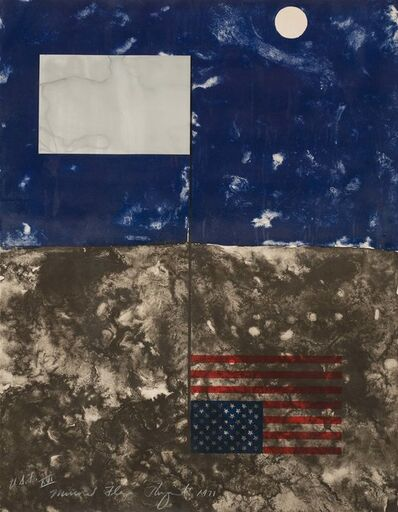 James Rosenquist, 'Mirrored American Flag', 1971