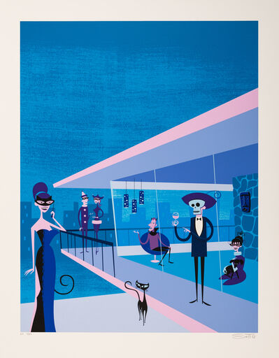 Josh Agle (Shag), 'Masquerade Party', 2003