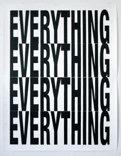 Joe Nanashe, 'Everything', 2009-2010