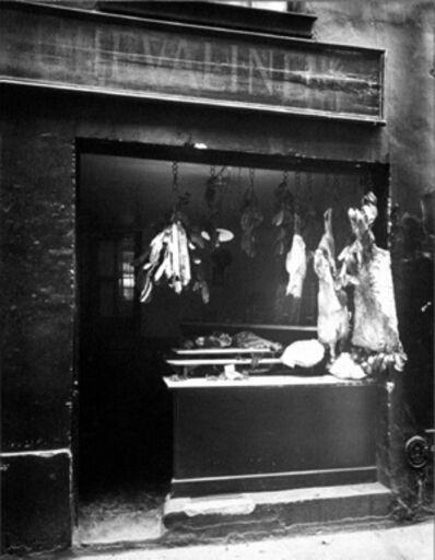 Eugène Atget, 'Boucherie, Rue Christine', 1923