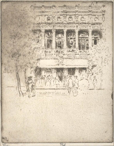 Joseph Pennell, 'The Garrick Theatre [London, England]', 1903