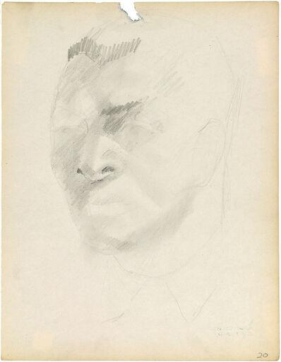 Charles White, 'HEAD OF A MAN'