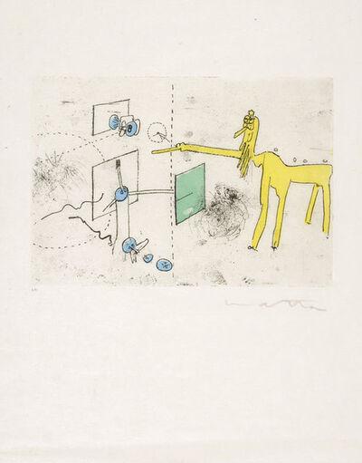 Roberto Matta, 'Paroles Peintes', 1959