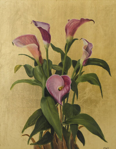 Nicola Currie, 'Pink Calla Lilies', 2019