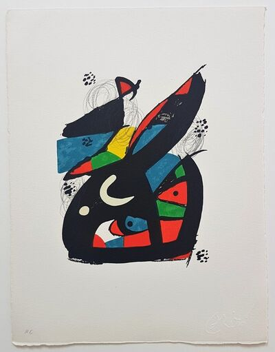Joan Miró, 'La Mélodie Acide - 13', 1980