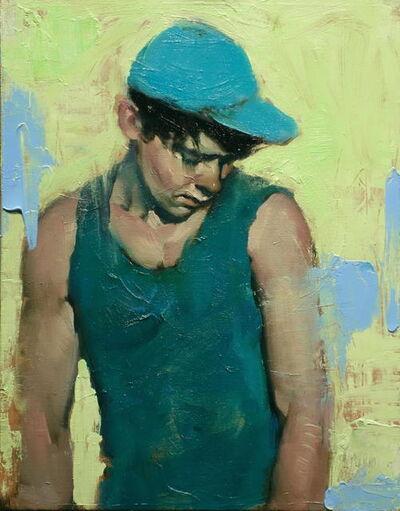 Malcolm T. Liepke, 'Blue Hat', 2017