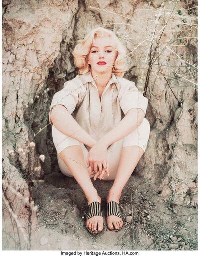 Milton H. Greene, 'Marilyn Monroe, Rock Sitting', 1953