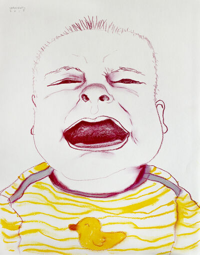 Eduardo Sarmiento, 'Crying Boy II', 2015