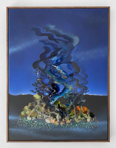 Zach Storm, 'Mirage (Ultramarine & Blue Black)', 2020