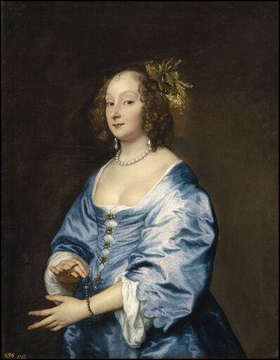 Anthony van Dyck, 'Mary, Lady van Dyck, née Ruthven', 1640