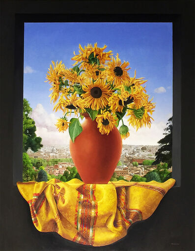 James Aponovich, 'Sunflowers, Villa Aurelia, Rome', 2016