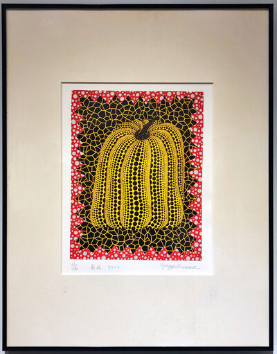 Yayoi Kusama, 'Pumpkin (Screenprint, Collage)', 2000