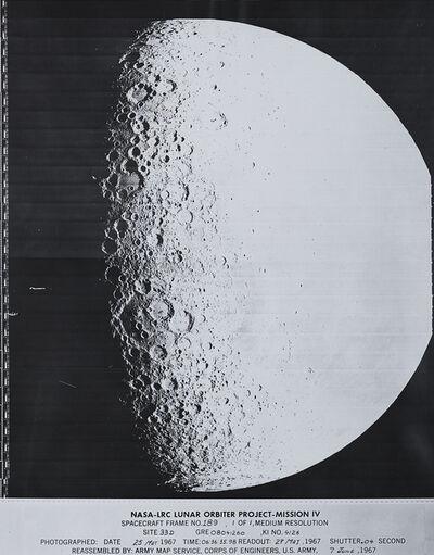NASA, 'Spacecraft Frame No. 189', 1967