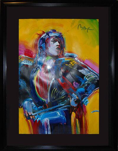 Peter Max, 'Mick Jagger', 1988