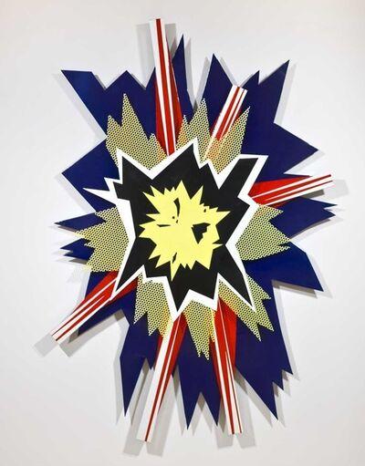 Roy Lichtenstein, 'Explosion II', 1965