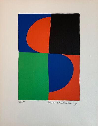 Sonia Delaunay, 'Recherches Graphiques', 1964