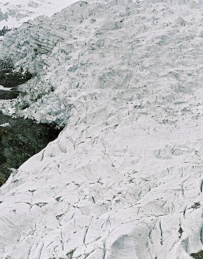 Olaf Unverzart, 'Glacier des Bossons, France', 2004