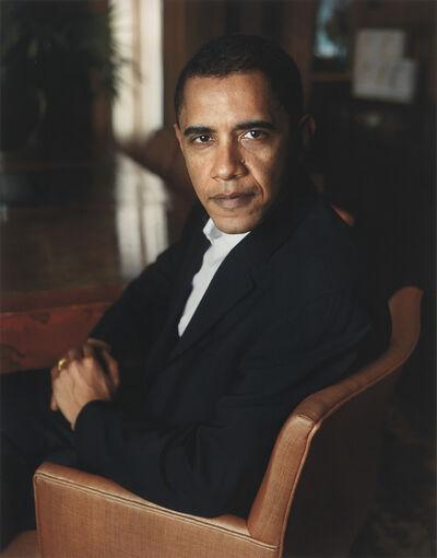 Dawoud Bey, 'Barack Obama', 2007