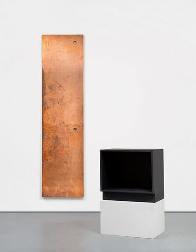 Walead Beshty, 'Copper Surrogate & Base for Copper Surrogate', 2011
