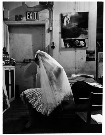 Ugo Mulas, 'Trisha Brown nello studio di Robert Rauschenberg New York.', 1964
