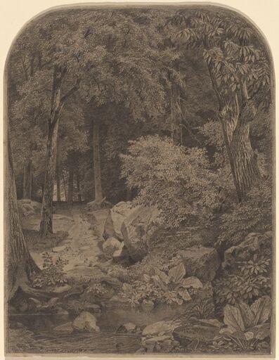 William Trost Richards, 'Landscape', 1862