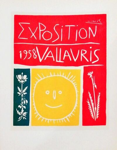 Pablo Picasso, 'Exposition Vallauris - Sun', 1959