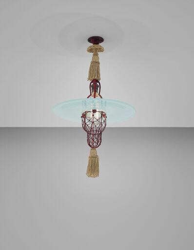 Sir Edwin Lutyens, 'Rare 'Cardinal's Hat' ceiling light', 1935-1942