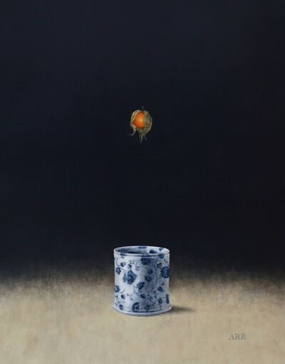 Alison Rankin, 'Blue and White Jar with Falling Physalis', 2018
