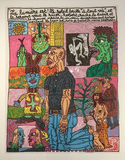 Robert Combas, 'La lumière', 1992