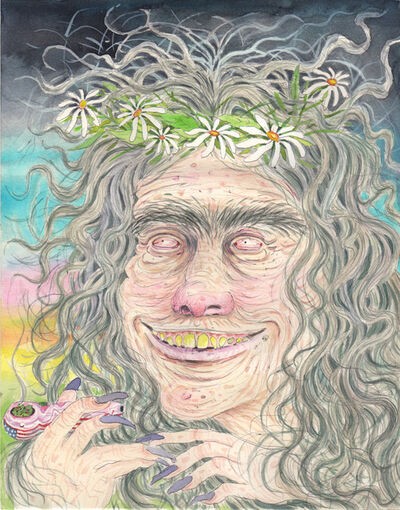 Rebecca Morgan, 'Hippie Witch', 2014